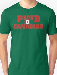 Proud Canadian Unisex T-Shirt
