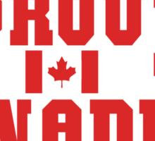 Proud Canadian Sticker