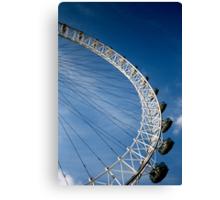 London Eye Ferris Wheel Canvas Print