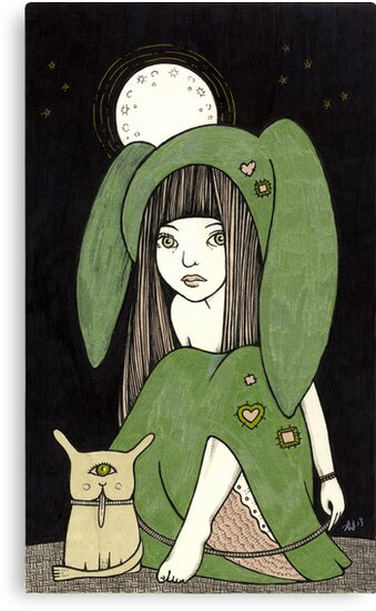 My Little Green Eyed Monster by Anita Inverarity