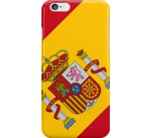 Smartphone Case - Flag of Spain - Diagonal iPhone Case/Skin