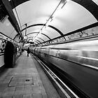 Hampstead Underground Tube Station London by lanesloo