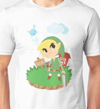 Link and Navi Cartoon Form T-Shirt