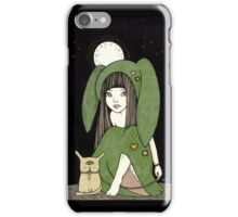 My Little Green Eyed Monster iPhone Case/Skin