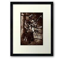 The Angel Slayer. Framed Print