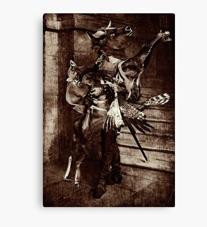 The Angel Slayer. Canvas Print