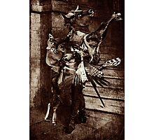 The Angel Slayer. Photographic Print