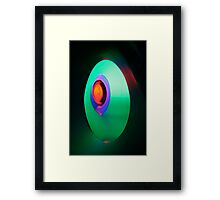 Red, Blue, Green, Distance Framed Print