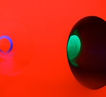 Red, Green, Purple Room by lanesloo