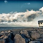 Look Out - Morecambe bay  by Simon Osbaldeston