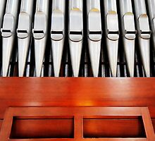 Pipe Organ at Christ Church Anglican Cathedral in Downtown Nassau, The Bahamas by 242Digital