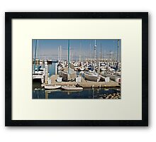Harbor at Monterey I Framed Print