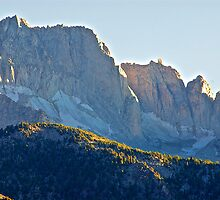Jagged Mountain Peaks by DaveKoontz