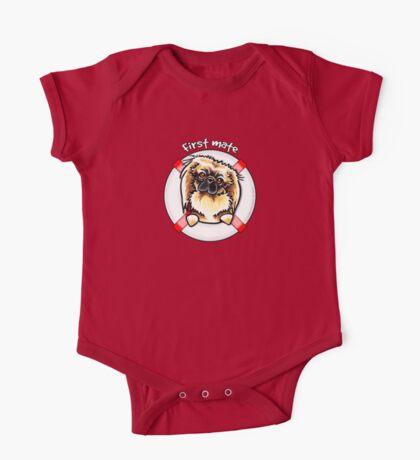 Pekingese :: First Mate One Piece - Short Sleeve