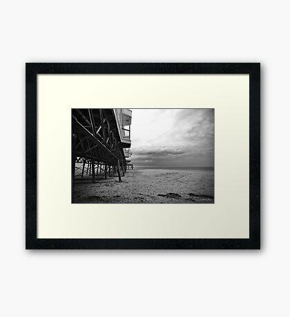 Lytham Pier - Lancashire UK Framed Print