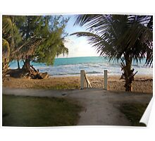 Gateway to the beach, San Juan, Puerto Rico Poster