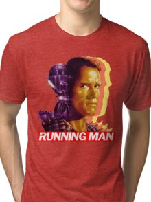 The Running Man Tri-blend T-Shirt