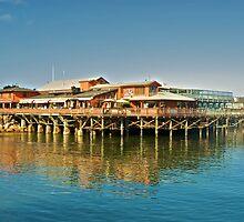 Pier at Monterey by DaveKoontz