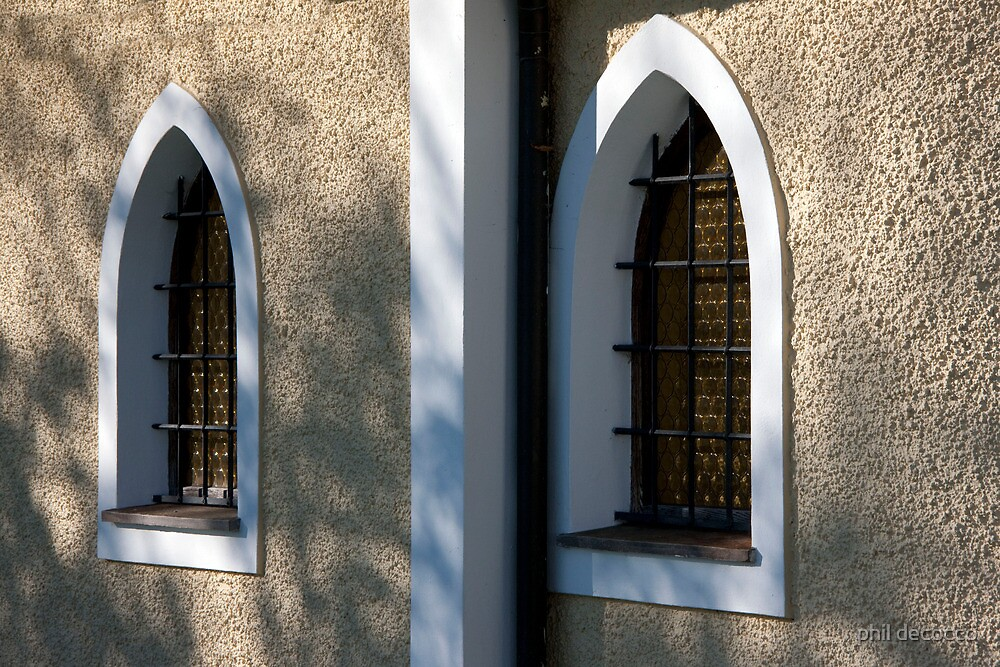 Chapel Windows by phil decocco