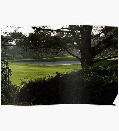 Serenity at the Golf Course Poster