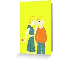 Mary Morstan or Mary Moran? Greeting Card