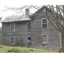 Left Empty, near Newport, Virginia Photographic Print