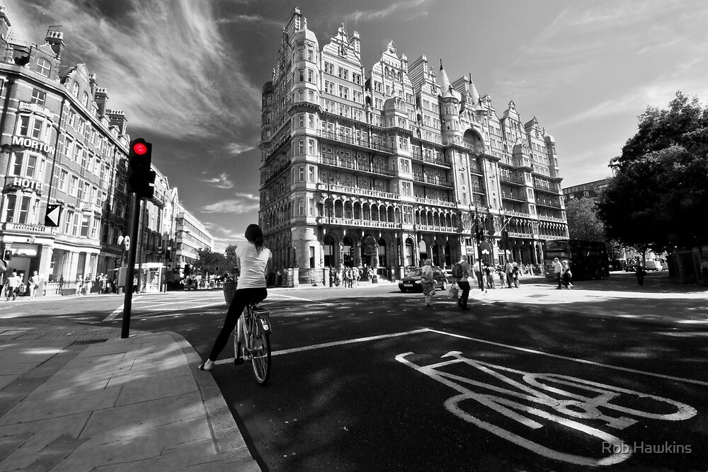 Cycling in the City  by Rob Hawkins