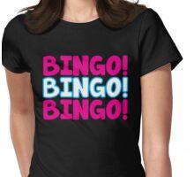 BINGO! BINGO! BINGO! Womens Fitted T-Shirt