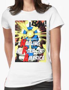 Pop! Gun Womens Fitted T-Shirt