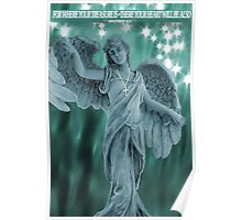 ¸¸.♥➷♥•*¨ANGELOF LIGHT WITH BIBLICAL TEXT¸¸.♥➷♥•*¨ Poster