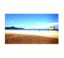 Sandy Beach Art Print