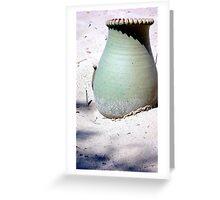 Beach Jug Greeting Card