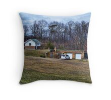 House In The Ground Throw Pillow