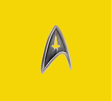 Star Trek Badge by nateberesford
