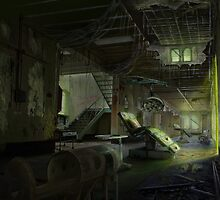 Abandoned Asylum Z-Ward by Anthony  Christou