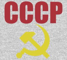 CCCP Hammer and Sickle One Piece - Short Sleeve