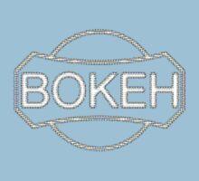 BOKEH logo reduction Kids Tee