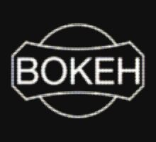 BOKEH logo reduction by dennis william gaylor