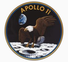 Apollo 11 Patch Art by 5thcolumn