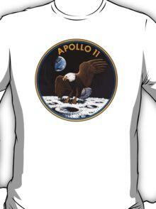 Apollo 11 Patch Art T-Shirt