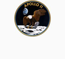 Apollo 11 Patch Art Unisex T-Shirt