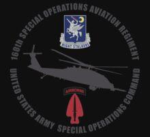 160th SOAR Black Hawk Kids Clothes