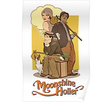 Down in Moonshine Holler - Thrilling Adventure Hour Poster