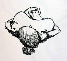 lying down by Tara Lea