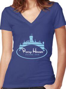 Rocky Horror Disney Women's Fitted V-Neck T-Shirt
