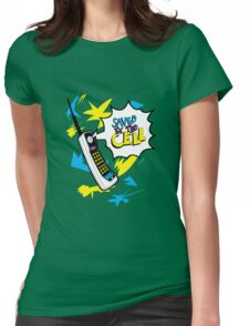 Saved by the Cell Womens Fitted T-Shirt