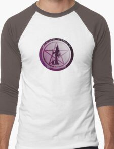 Get a taste of religion, lick a witch! Men's Baseball ¾ T-Shirt