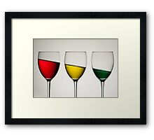 Tipple Framed Print