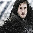 Jon Snow by Joe Misrasi