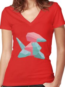 No. 137 Women's Fitted V-Neck T-Shirt